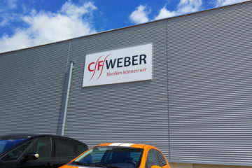 Fassadenschild CF Weber Spitzkunnersdorf