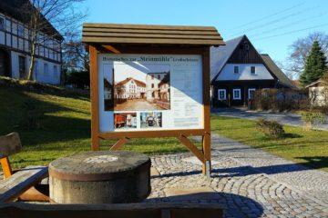 Ortstafel Großschönau