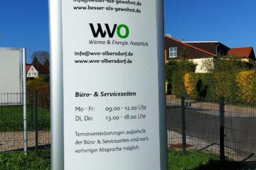 Stele KWV / WVO Olbersdorf