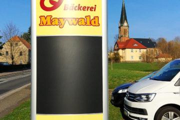 Stele Bäckerei MAYWALD Hörnitz