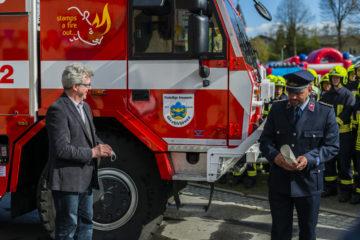 TATRA-Löschfahrzeug der Freiwilligen Feuerwehr Großschönau